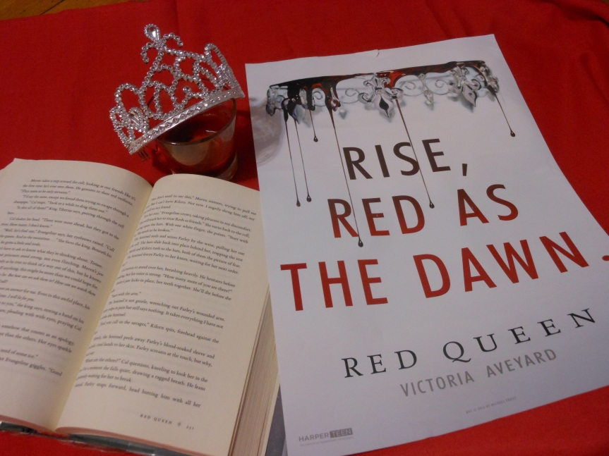 Book Monologue 1: Red Queen by Victoria Aveyard