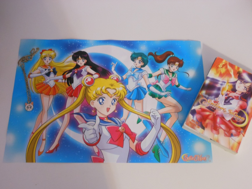 Sailor Moon Book Tag