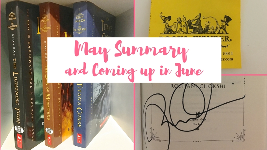 May Summary and Coming up in June