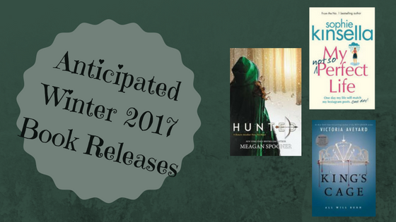 Anticipated Winter 2017 Book Releases