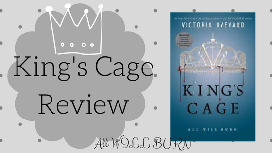 Review: King's Cage by VictoriaAveyard