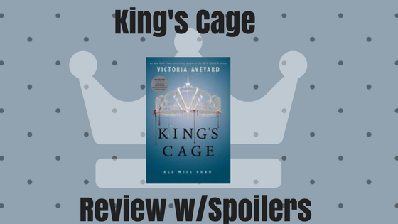 Book Monologue 6 : King's Cage by Victoria Aveyard