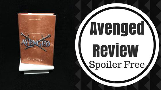 Review: Avenged by AmyTintera