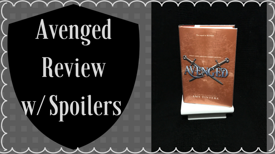 Book Monologue # 7: Avenged by Amy Tintera