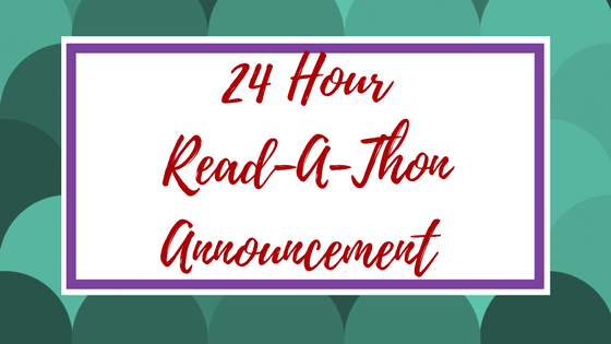 24 Hour Read-A-Thon by Zoe TBR