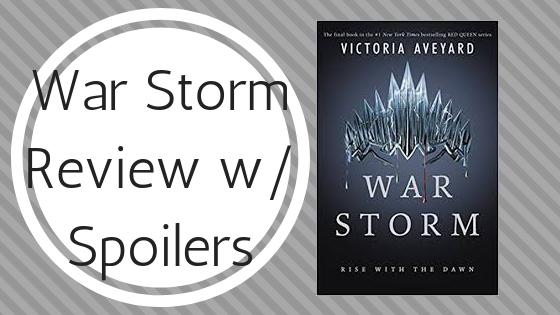 Book Monologue #9: War Storm by VictoriaAveyard